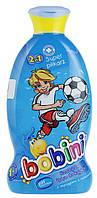 Детский шампунь-пена для ванн Bobini 2в1 Супер футболист