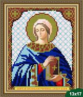 Набор для вышивки бисером икона Святая Великомученица Анастасия VIA 5021