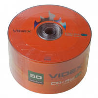 Диск Videx DVD+RW 4,7Gb 4x Bulk 50 pcs (00103)