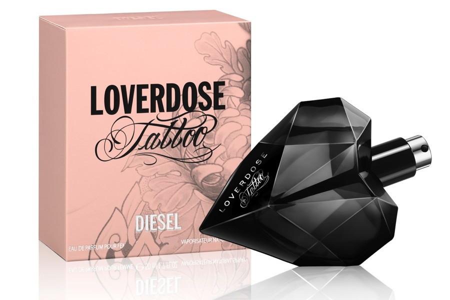 Diesel Loverdose Tattoo парфюмированная вода 75 ml. (Дизель Ловердоз Тату)