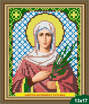 Вышивка икона святая татьяна