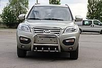 Защита переднего бампера (кенгурятник)  Lifan CX-60 2013+