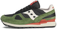Женские кроссовки Saucony Shadow Original Black/Green/White,саукони