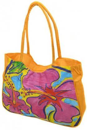 Солнечная женская пляжная сумка Podium 1330 yellow, желтый