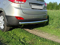 Защита заднего бампера  Hyundai IX-35 с 2010… /ровная