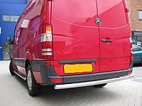 Защита заднего бампера  Mercedes Sprınter с 2006… /ровная