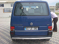 Защита заднего бампера Volkswagen  T-4  /ровная