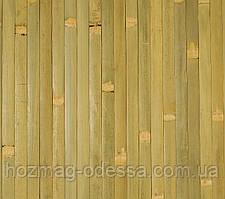 Бамбуковые обои, бледно-зеленые, ширина 150 см.
