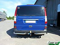 Защита заднего бампера Mercedes Vito с 2003…  /углы