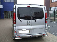 Защита заднего бампера Opel Vivaro/Renault Trafic  /углы