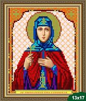 Набор для вышивки бисером икона Преподобная  Анна Кашинская VIA 5035