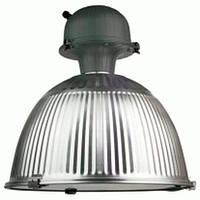 Светильник DELUX HB MH-400W AL R алюминий рифленый, для освещения высоких прогонов