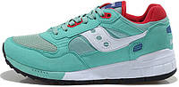 Женские кроссовки Saucony Shadow 5000 Green/Red,саукони