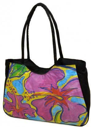 Женская пляжная сумка Podium 1330 black, черный