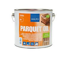 МАСЛО ДЛЯ ПАРКЕТА И ДЕРЕВЯННЫХ ПОЛОВ Kiilto Parquet Oil Natural 2,5л.
