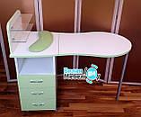 """Розкладний манікюрний стіл """"Мобільний"""" на роликах, фото 4"""