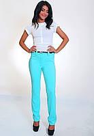 Стильные брюки средней посадки