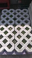 Газонна решітка ЕКО-парковка (600х400х100) сіра