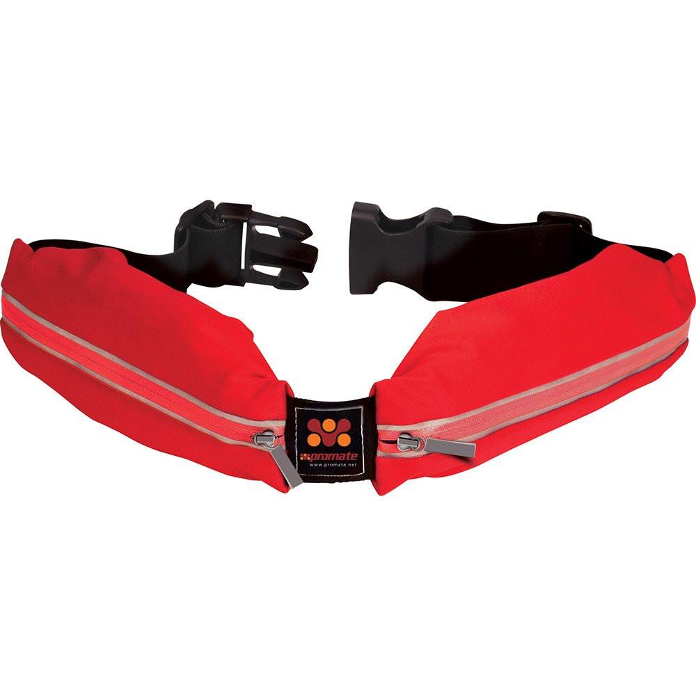 Универсальный спортивный ремень-чехол Promate LiveBelt Red