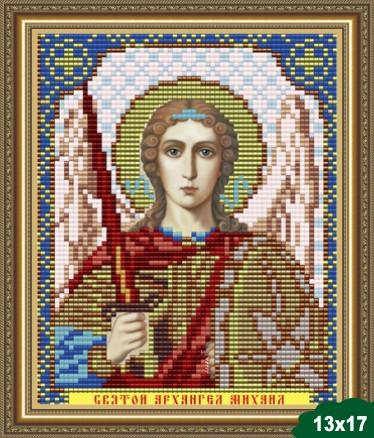 Набор для вышивки бисером икона Святой Архангел Михаил VIA 5084