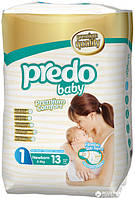 Подгузники Predo Baby Newborn 1 Small 2-5 кг 13 шт