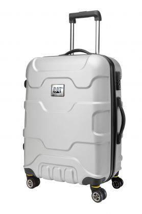 Противоударный чемодан средний на 4-х колесах 89 л. CAT 82994 металлик; черный; бронзовый