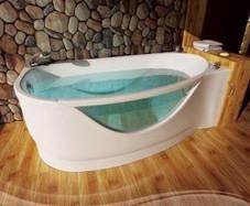Акриловая ванна ТРИТОН МИЛЕНА 1700х940х625 (Левая), фото 2