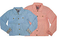 Куртка коттоновая для девочек, размеры 158,  Glo-story, арт. GFY-2434