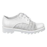 Туфли женские кожаные Paloma 101-50 бел., фото 1