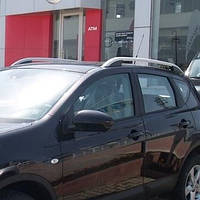 Рейлинги  Nissan Qashqai (2007-2014) /тип Crown,(Крепление на клей)