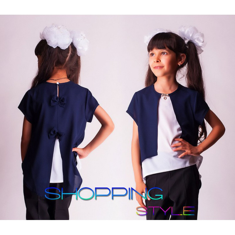7e5c3bbbe6b Блузки школьные для девочек подростков - Интернет магазин Линия одежды в  Харькове