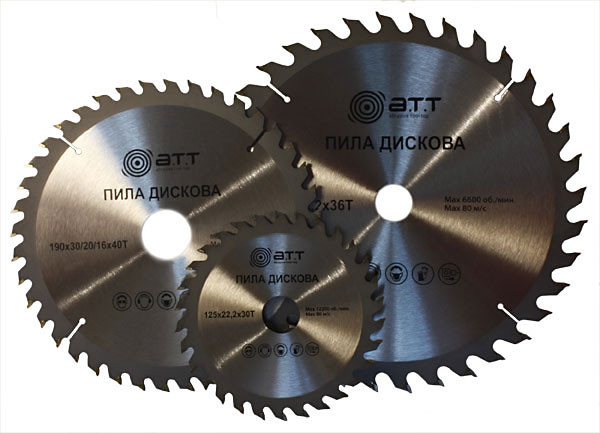 Пила дисковая А.Т.Т.150*22,2мм х 30Т