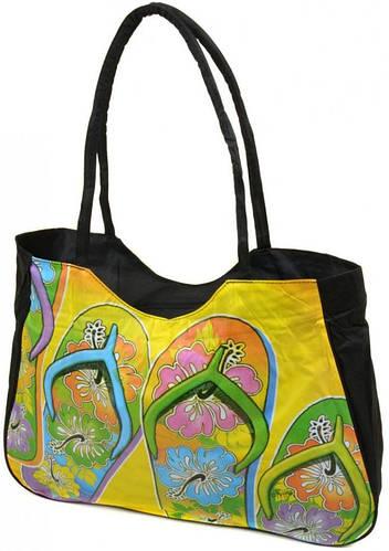 Пляжная сумка на молнии  с принтом Podium 1327 black, черный