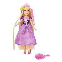 Базовая кукла Принцесса Рапунцель с длинными волосами и аксессуарами, B5292
