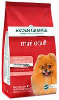 Корм для собак небольших пород с курицей и рисом Arden Grange Adult Mini Chicken & Rice