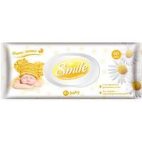 Салфетки детские влажные Smile 60 шт.