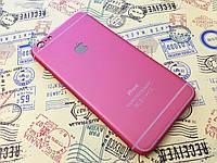 Пластиковая накладка для iPhone 6 Plus розовый