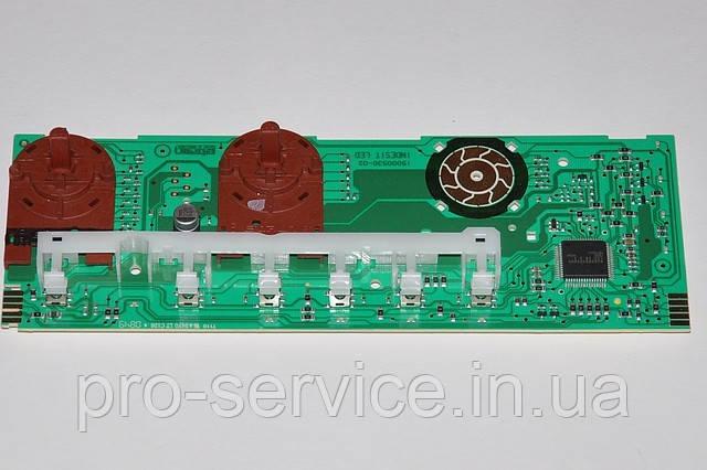 Плата индикации (2 ручки) C00143085 для стиральных машин Indesit EVO II