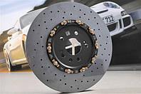 Задний правый керамический тормозной диск PCCB  | Porsche Macan