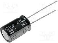 Конденсатор электролитический ECR 470uF 35V 85'C