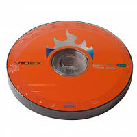 Чистый диск Videx CD-RW 700mb 4-12x bulk10
