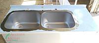 Ванна моечная цельногнутая ВМШ-2 14-6-30 двухсекционная