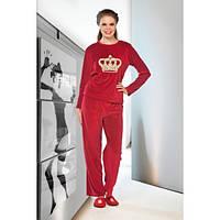 Велюровый костюм Lady Lingerie 15300 (размеры в ассортименте L; XL)