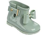 Детская обувь Мини Мелисса Sugar Rain Bow (зеленый) ORIGINAL100% 21,22 размеры