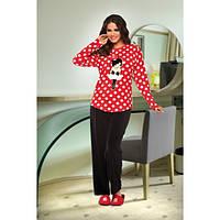 Велюровый костюм Lady Lingerie 15350 (размеры в ассортименте L; XL)