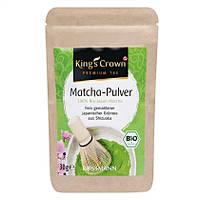 King's Crown Premium Tee  Bio Matcha-Pulver -  зеленый  Японский чай Матча , 30 г