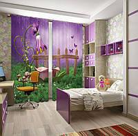 Фотошторы Цветочный душ для фей