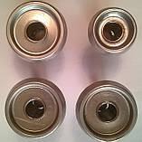"""Набір пальників з кришками плити """"Дружківка"""" (на короткій ніжці). код товару: 7150, фото 2"""