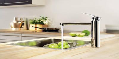 Смесители на кухню и для ванной