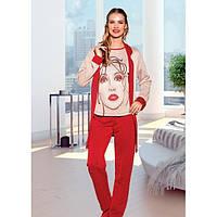Набор домашней одежды Lady Lingerie 16195 (размеры в ассортименте L; XL)